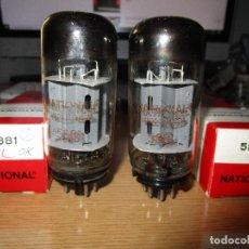 Radios antiguas: VALVULA 5881 = 6L6 NUEVAS 2 VALVULAS. Lote 236224945