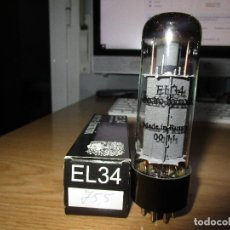 Radios antiguas: VALVULA EL34 NUEVA. Lote 236229175