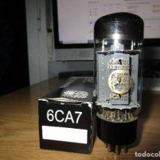 Radios antiguas: VALVULA 6CA7 EL34 NUEVA. Lote 236229765