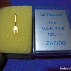 Radios antiguas: ENVIO: 3€ AGUJA PARA TOCADISCOS REULO ZAFIRO 79-S BSR TC8. Lote 240000655