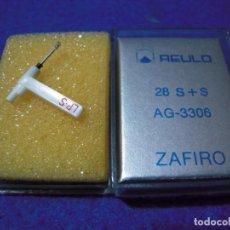 Radios antiguas: ENVIO: 3€ AGUJA PARA TOCADISCOS REULO ZAFIRO 28 S+S AG-3306. Lote 240001160