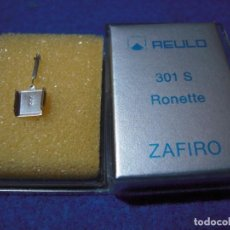 Radios antiguas: ENVIO: 3€ AGUJA PARA TOCADISCOS REULO ZAFIRO 301-S RONETTE. Lote 240001865