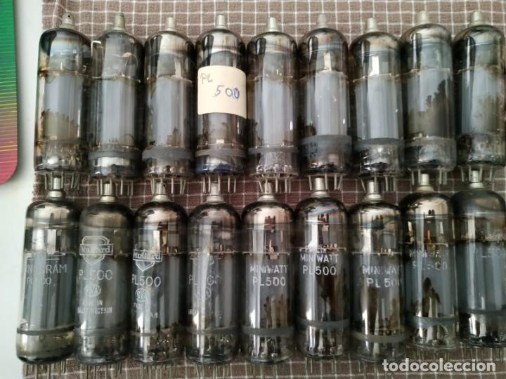 LOTE (I) 15X PL500 (Radios, Gramófonos, Grabadoras y Otros - Repuestos y Lámparas a Válvulas)