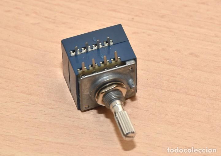 POTENCIOMETRO ALPS JAPAN RH2702 50KAX2 (Radios, Gramófonos, Grabadoras y Otros - Repuestos y Lámparas a Válvulas)