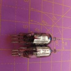 Radios antiguas: 2 UNIDADES VÁLVULA DIODO VR78 = CV1078 = QF196 = 2B36 = 10E/11540 - NOS - LOTE 4. Lote 240776000