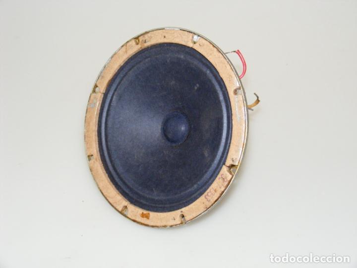 Radios antiguas: ALTAVOZ ELECTRODINÁMICO CON BOBINA DE CAMPO - SIN TRANSFORMADOR - BUEN ESTADO. - Foto 2 - 244808160