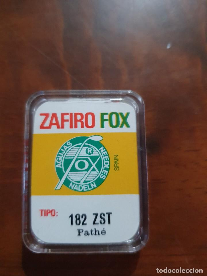 Radios antiguas: Aguja tocadiscos zafiro fox 182 ZST pathe - Foto 2 - 254433790