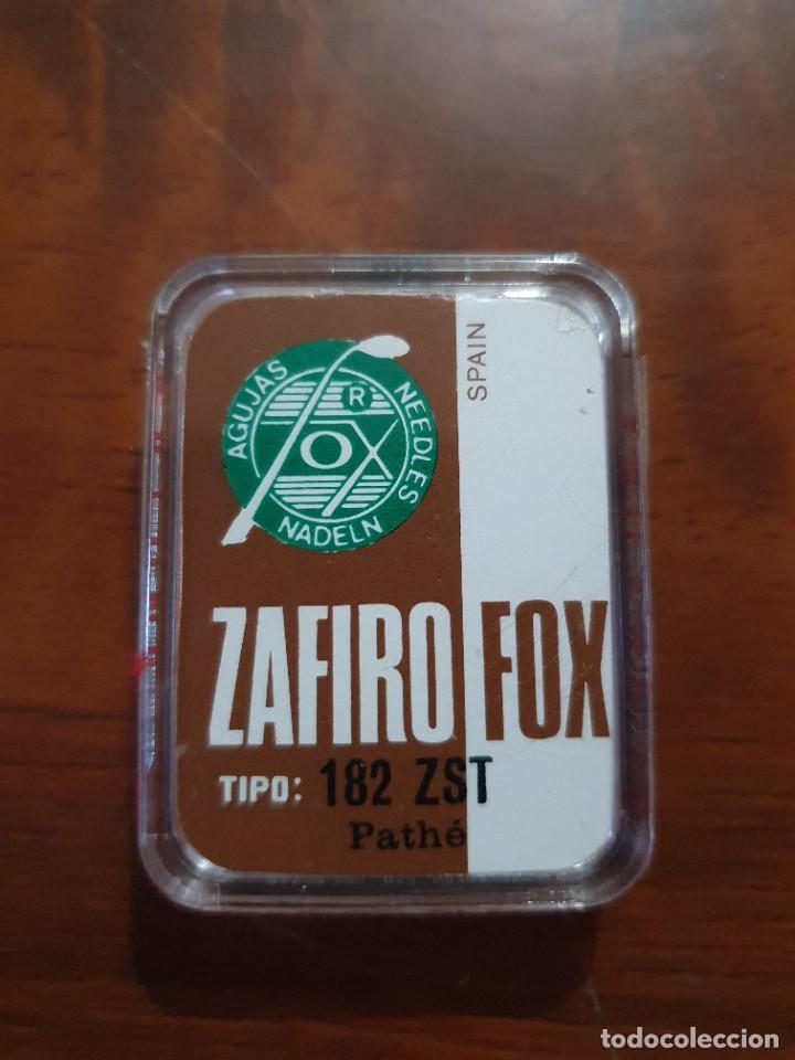 Radios antiguas: Aguja tocadiscos zafiro fox 182 ZST - Foto 2 - 254433900