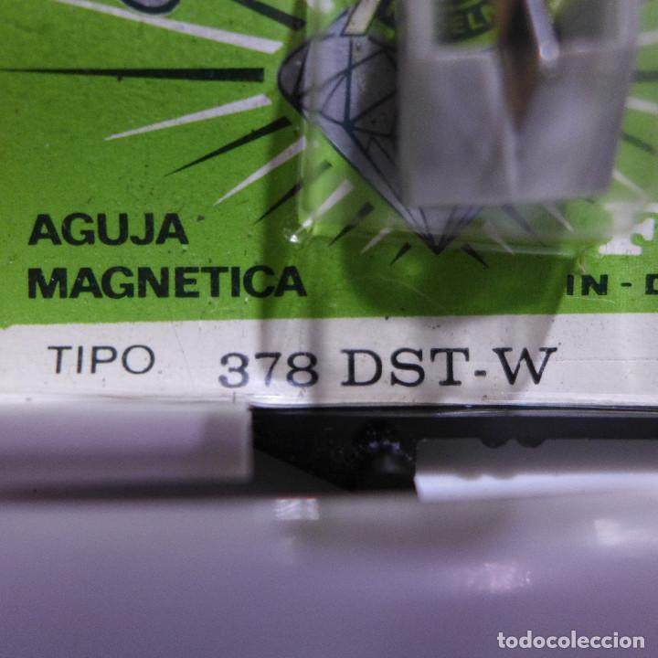 Radios antiguas: AGUJA MAGNETICA DIAMANTE FOX TIPO 378 DST-W PHILIPS - Foto 4 - 254646040