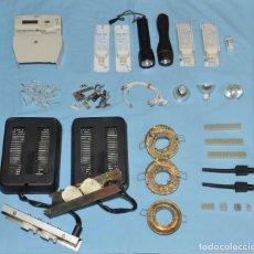 Radios antiguas: LOTE DE MATERIAL DE ELECTRICIDAD. Lote 257550400