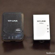 Radios antiguas: 2 PLC PARA COMUNICACION A TRAVÉS DE LA LINEA DE RED. Lote 258110980