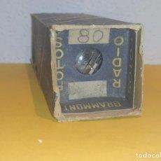 Radio antiche: 1 X 80-GRAMONT-NUEVA-NOS/NIB-TUBE.. Lote 261126600