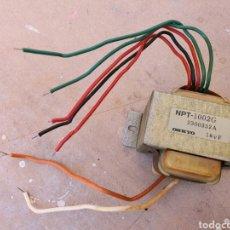Radios antiguas: TRANSFORMADOR - ALIMENTADOR ONKIO 18V. Lote 262899945