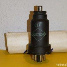 Radios antiguas: VALVULA 6J7 HALTRON-USADA Y PROBADA.. Lote 264969984