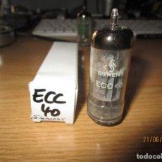 Radios antiguas: VALVULA ECC40 TESTADA BUENA. Lote 270577418