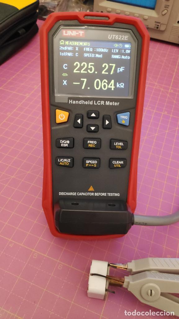 Radios antiguas: 1 Condensador variable para radio o galena AM 2 secciones - mediciones en las fotos - NOS - Foto 2 - 276988523
