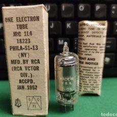 Radios antiguas: VÁLVULA JRC 114 . NUEVA.. Lote 277271963