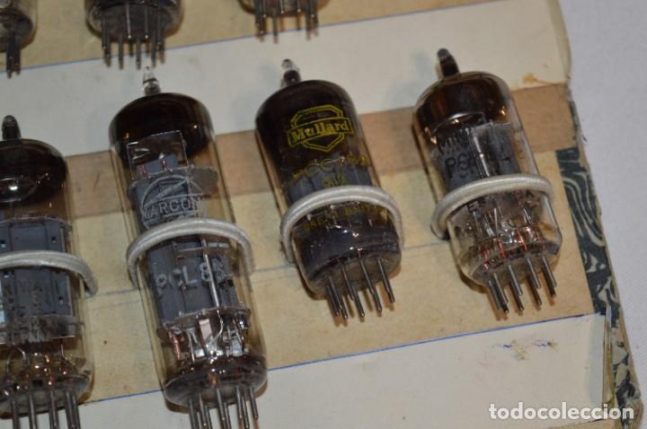 Radios antiguas: 28 Válvulas / Lámparas variadas / TELEFUNKEN, MARCONI, MINIWATT, VALVO, MULLARD y otras - Lote 01 - Foto 13 - 278281618