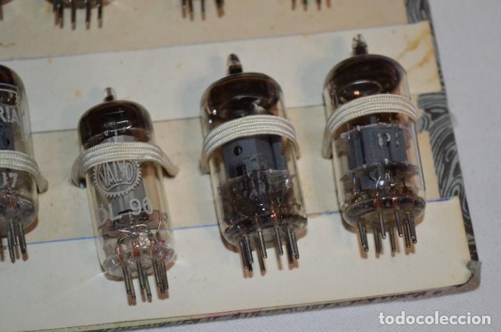 Radios antiguas: 30 Válvulas / Lámparas variadas / HALTRON, MARCONI, MINIWATT, VICTORIA, MULLARD y otras - Lote 03 - Foto 15 - 278286548