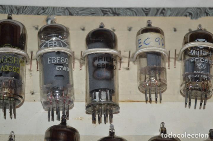 Radios antiguas: 26 Válvulas / Lámparas variadas / TELEFUNKEN, MARCONI, MINIWATT, PHILIPS, MULLARD y otras - Lote 02 - Foto 3 - 278284578