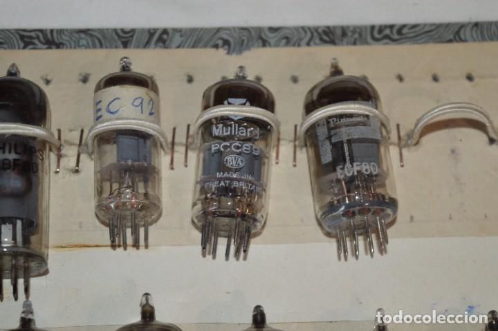 Radios antiguas: 26 Válvulas / Lámparas variadas / TELEFUNKEN, MARCONI, MINIWATT, PHILIPS, MULLARD y otras - Lote 02 - Foto 4 - 278284578