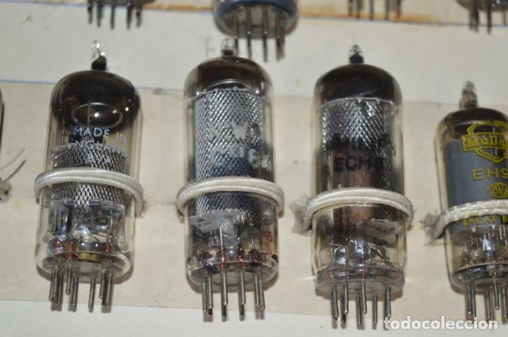 Radios antiguas: 26 Válvulas / Lámparas variadas / TELEFUNKEN, MARCONI, MINIWATT, PHILIPS, MULLARD y otras - Lote 02 - Foto 10 - 278284578