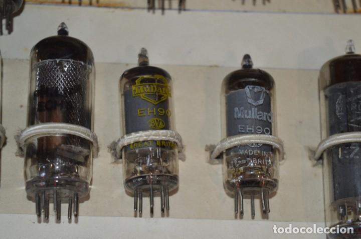Radios antiguas: 26 Válvulas / Lámparas variadas / TELEFUNKEN, MARCONI, MINIWATT, PHILIPS, MULLARD y otras - Lote 02 - Foto 11 - 278284578
