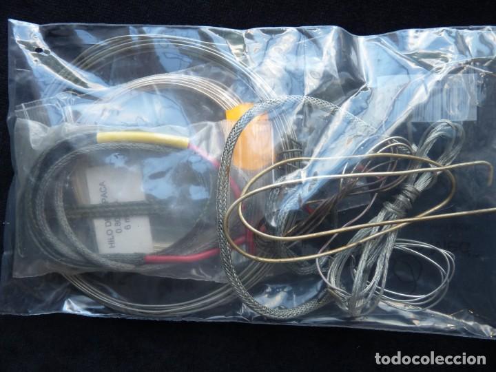 Radios antiguas: 2 Kg., DE CABLE Y MATERIAL CABLEADO PARA RADIO, TRANSISTOR, CASSETTE, HIFI, JUGUETES (86) - Foto 5 - 288644168