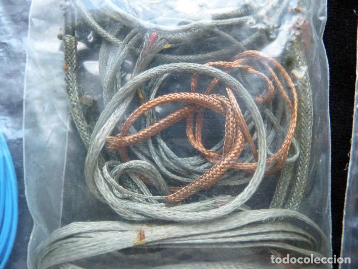 Radios antiguas: 2 Kg., DE CABLE Y MATERIAL CABLEADO PARA RADIO, TRANSISTOR, CASSETTE, HIFI, JUGUETES (86) - Foto 11 - 288644168