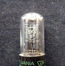 Radios antiguas: 5Y3GT, SYLVANIA,VÁLVULA DE VACIO. USADA. TESTADA. LÁMPARA RADIO, TV, HIFI (38). Lote 288867893
