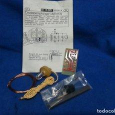 Radio antiche: KIT RECEPTOR DE DIODOS OM-OC NR. B 076 BASADO EN EL PRINCIPIO DE LAS RADIOS DE GALENA. Lote 295361998