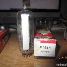 Radios antiguas: VALVULA EM84 NUEVA. Lote 295508443