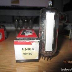 Radios antiguas: VALVULA EM84 NUEVA. Lote 295508583