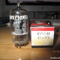 Radios antiguas: VALVULA 12AT7 = ECC81 NUEVA 5965. Lote 295509543