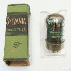 Radios antiguas: VALVULA PENTODO 7A7 DE BASE LOCTAL, NUEVA SIN USO. Lote 295798193
