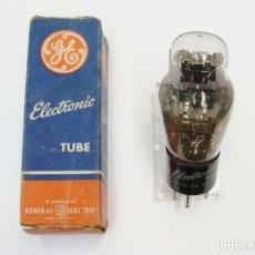 Radios antiguas: VÁLVULA DOBLE DIODO 84 / 6Z4 PARA ZÓCALO UX5 (5 PATILLAS).NUEVA,SIN USO. Lote 295803318