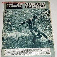 Coleccionismo deportivo: ANTIGUA REVISTA DEL REAL MADRID Nº 116 - MARZO 1960 - FUTBOL - DEPORTE. Lote 18974517