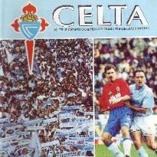 Collectionnisme sportif: PROGRAMA DEL PARTIDO DE FUTBOL CELTA VIGO - MERIDA LIGA 1995/1996. Lote 26180692
