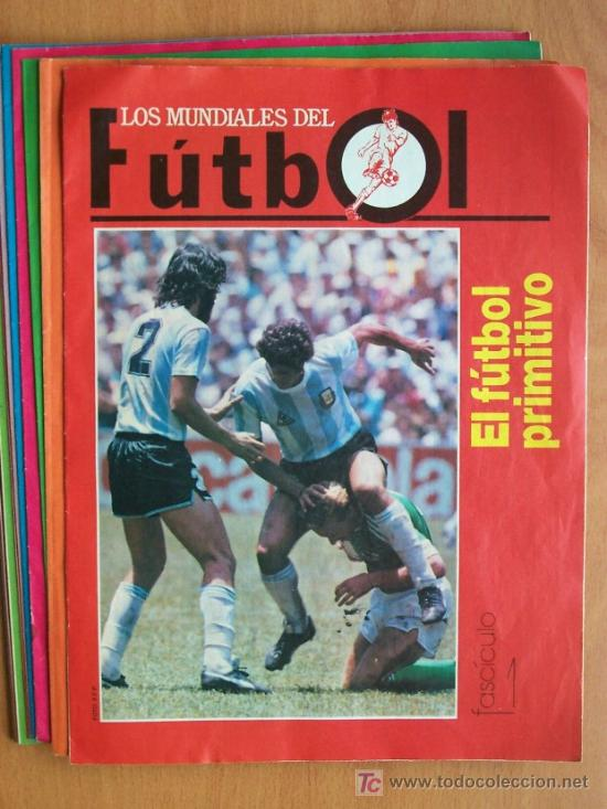 14 FASCÍCULOS LOS MUNIDALES DEL FÚTBOL (DEL 1 AL 14 FALTAS EL 15 Y 16) - EDIT. PRENSA SEMANAL 1990 (Coleccionismo Deportivo - Revistas y Periódicos - otros Fútbol)