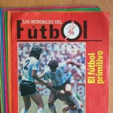 Coleccionismo deportivo: 14 FASCÍCULOS LOS MUNIDALES DEL FÚTBOL (DEL 1 AL 14 FALTAS EL 15 Y 16) - EDIT. PRENSA SEMANAL 1990. Lote 22208446