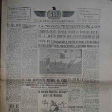 Coleccionismo deportivo: GOL DIARIO DEPORTIVO. AÑO II NÚM 199 LUNES 24 DE MARZO 1941. Lote 5564724