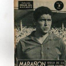 Coleccionismo deportivo: IDOLOS DEL DEPORTE Nº94 MARAÑON. Lote 5802184