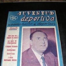 Coleccionismo deportivo: JUVENTUD DEPORTIVA, SEMANARIO DEPORTIVO, ILUSTRADO. Lote 8170075