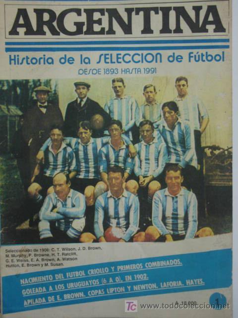 Historia de la selecci n argentina de futbol de comprar for Revistas del espectaculo argentino