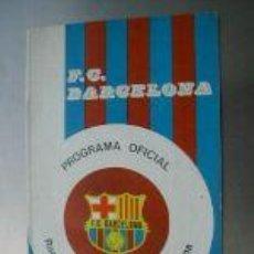 Coleccionismo deportivo: PROGRAMA OFICIAL PARTIDO RACING-BARCELONA.1975.L4594 . Lote 6131658