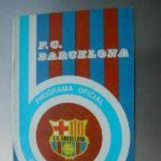 Coleccionismo deportivo: PROGRAMA OFICIAL PARTIDO HERCULES-BARCELONA.1975.L4592 . Lote 6131673