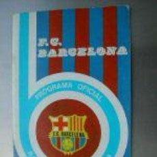 Coleccionismo deportivo: PROGRAMA OFICIAL PARTIDO ESPAÑOL-BARCELONA.1975.L4590. Lote 6131674