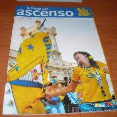 Coleccionismo deportivo: LA FIESTA DEL ASCENSO AÑO 2005 DEL CADIZ LA VOZ. Lote 21024150