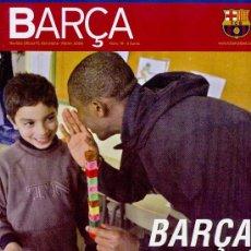 Coleccionismo deportivo: REVISTA OFICIAL DEL FUTBOL CLUB BARCELONA (EN CATALA) ++++ FEBRER 2006. Lote 7238233