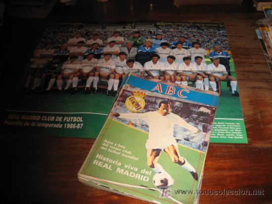 HISTORIA VIVA DEL REAL MADRID FASCICULOS DE Nº 1 AL 32 (Coleccionismo Deportivo - Revistas y Periódicos - otros Fútbol)